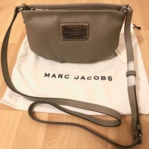 Marc Jacobs gray crossbody